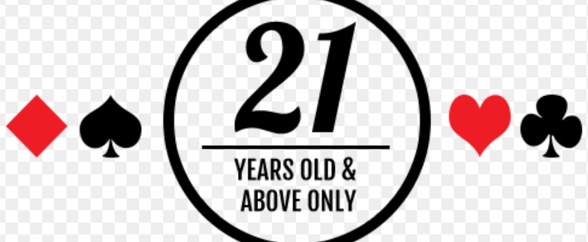 The minimum age is 21